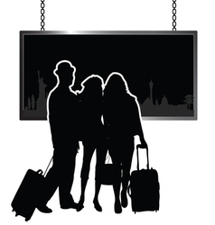 Travel people vector