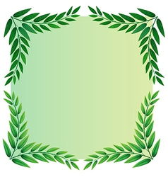 A leafy template vector