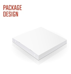 Pizza package box 1 vector