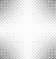 Black and white abstract square pattern design vector