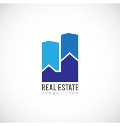 Real estate concept symbol icon or logo template vector