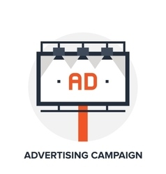 Advertising campaign concept vector
