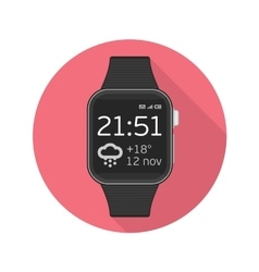Icon smart watches vector