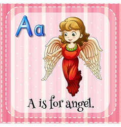 Alphabet A vector image