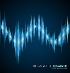 Blue sound wave vector