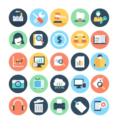 Business and seo icons 4 vector