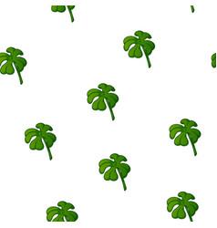 clover pattern quatrefoil vector image vector image