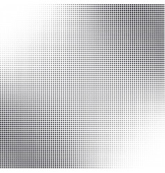 Halftone dotted grunge textured background vector