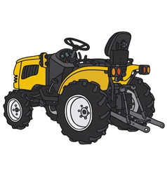 Small tractor vector
