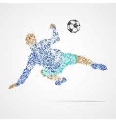 Soccer football sport athlete vector