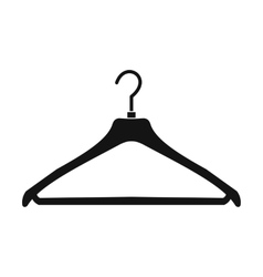 Coat hanger icon vector