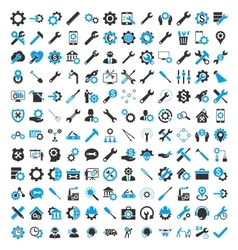 Options And Service Tools Icons vector image