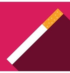 cigarette icon symbol vector image vector image