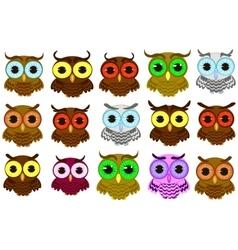 Isolated owl vector