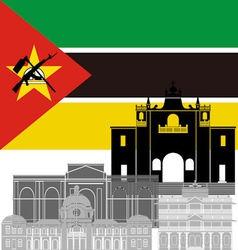 Mozambique vector