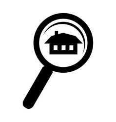 Search home simple icon vector image