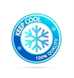 Keep cool vector