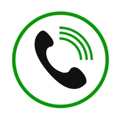 Phone call icon2 vector