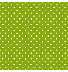 green textured polka dot seamless pattern vector image vector image