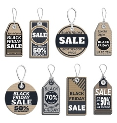 Set of sale tags different tags design on the vector