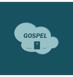 Logo gospel vector