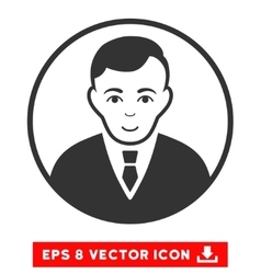 Rounded gentleman eps icon vector