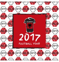 Football 2017 year vector
