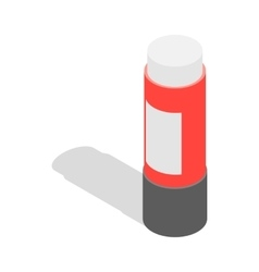 Stationery glue icon isometric 3d style vector