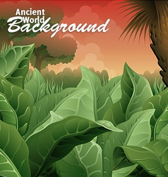 ancient world background vector image vector image