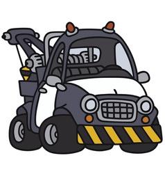 Breakdown service vehicle vector
