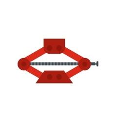 Car jack icon flat style vector