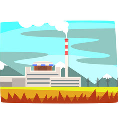 Fossil fuel power station electricity generation vector