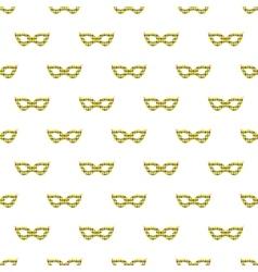 Mardi gras mask background vector image