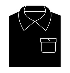 Men stylish outfit icon vector