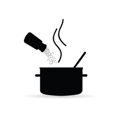 Placing spices vector