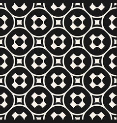 Seamless pattern with crosses circles squares vector