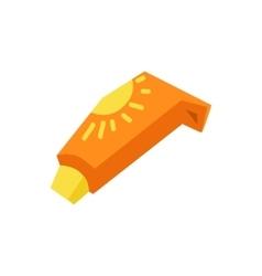 Sunscreen Care Sun Protection vector image