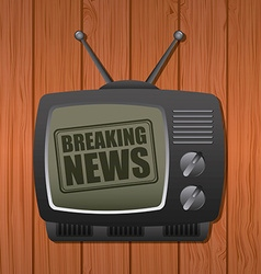 Breaking news vector