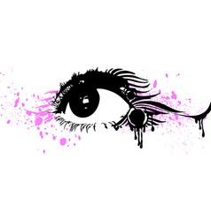 Abstract Eye Design vector image