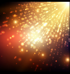 Abstract space background explosion vector