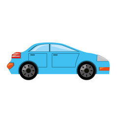 Car vehicle isolated vector