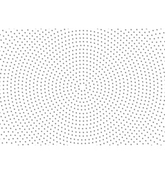 Dotted Circular Background vector image vector image