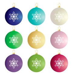Gradient ornaments vector