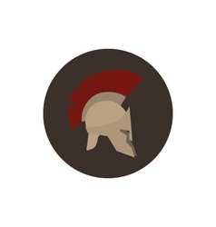 Icon helmet vector