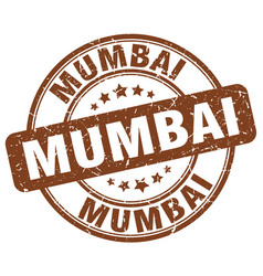 Mumbai stamp vector