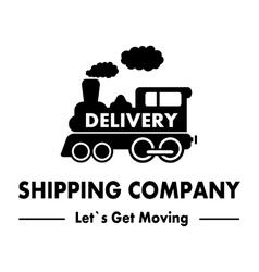 Shipping company symbol vector