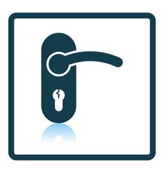 Door handle icon vector image