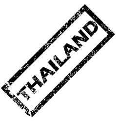 Thailand stamp vector