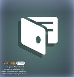 Ewallet electronic wallet business card holder vector