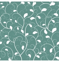 Vintage seamless branch pattern vector